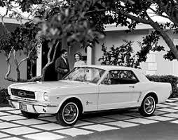 1964 Black Mustang Black And White Mustang Photographs Fine Art America