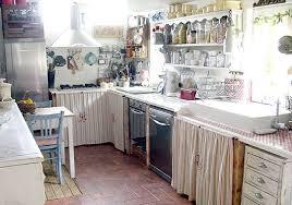 d oucher un ier de cuisine une standart avec rideau shabby decoration cuisine rideaux