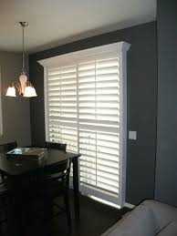 Bypass Shutters For Patio Doors Door Plantation Shutters On Patio Diy For Sliding Glass
