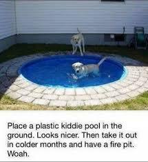 dog pool u2013 diy idea we found this very cool pardon the pun idea