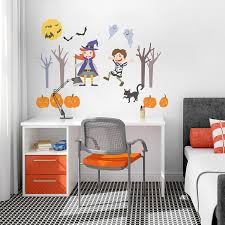 removable vinyl wall art halloween wall decal happy halloween full size of decoration halloween wall decal for kids room removable vinyl art wall sticker large