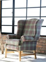 Tartan Armchairs Furniture Homeware