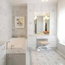 Lucite Vanity Bench Gray Tufted Vanity Stool Design Ideas