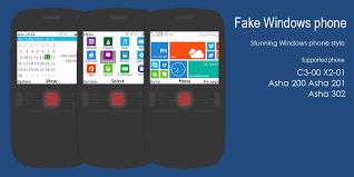 windows 10 themes for nokia asha 210 fake windows phone theme c3 00 320x240 s406th wb7theme