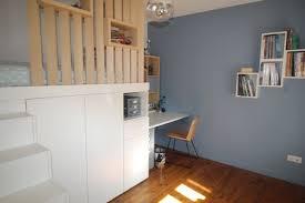 photo de chambre d ado aménagement d une chambre d adolescent avec un lit cabane en hauteur