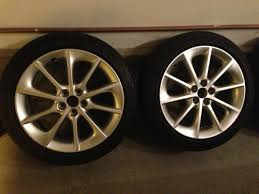 lexus wheels and tires fs oem 17