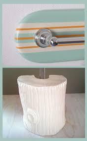 tropical nautical and beach bathroom accessories surfboard