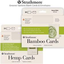 strathmore hemp bamboo blank greeting cards envelopes
