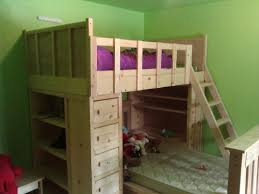 Build A Bunk Bed Homemade Simple Cabin Bunk Bed Diy Project The Homestead Survival