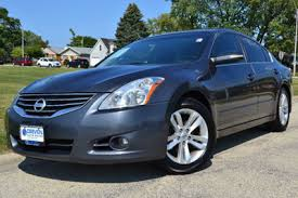 2012 used nissan altima 4dr sedan v6 cvt 3 5 sr at driven auto