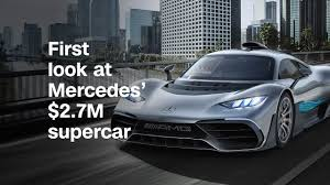 mercedes first look at mercedes u0027 2 7m supercar video business news
