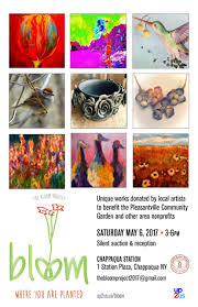 up2us hosts bloom art auction chappaqua ny patch
