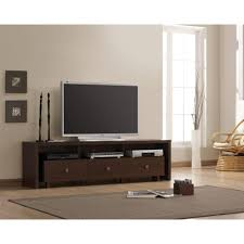 Living Room Toy Storage Furniture Tv Stand Black High Gloss Armstrong Dark Brown Modern