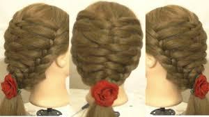 tutorial hairstyles for medium length hair super cute french hairstyle for short medium length hair 2017
