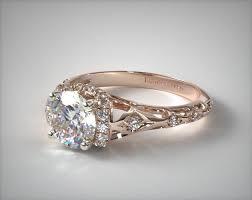 filigree engagement rings enchanted filigree engagement ring 14k gold 17680r14