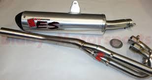 trx400ex trx 400ex big gun exhaust system eco full pipe system