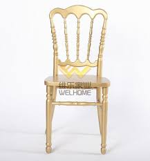 Napoleon Chair Golden Wooden Napoleon Chair For Wedding Event China Wholesale