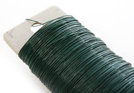floral wire green paddle floral wire wire rope string basic craft