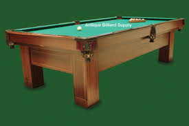 brunswick mission pool table antique billiard supply pool tables from 5 000 15 000