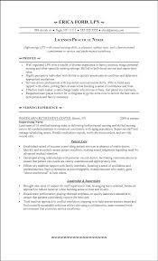 Best Resume Template For Nurses by Best Resume Template For Licensed Practical Nurse Lpn Resume