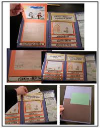pilgrim wanoag thanksgiving portfolio lapbook research project