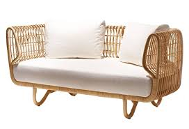 Sofa Bamboo Furniture Sustainable Rattan Indoor Furniture By Cane Line
