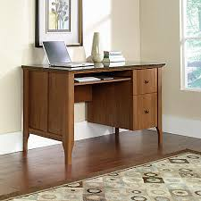 Office Depot Computer Desks Sauder Appleton Faux Marble Top Computer Desk Sand Pear By Office