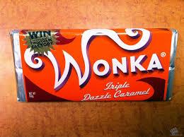 wonka bars where to buy wonka s dazzle caramel chocolate bar prop from