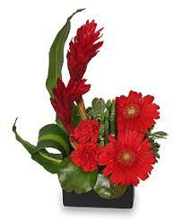 Modern Flower Vase Arrangements Radiant In Red Floral Arrangement Vase Arrangements Flower