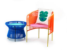 Outdoor Lounge Vis A Vis Ames Launches Caribe A Colorful Outdoor Collection Made Of
