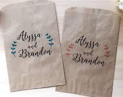 wedding candy bar bags dessert bar bags wedding sweet