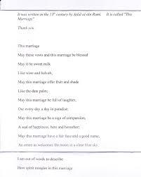 poeme sur le mariage invitation si quelqu un souhaite traduire en français ce beau