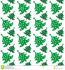 seamless vector pattern of christmas tree royalty free stock image