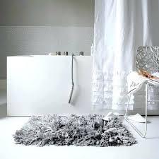 Shaggy Bathroom Rugs Light Grey Bathroom Rugs Freetemplate Club
