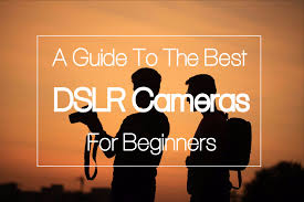 a guide to the best dslr cameras for beginners tusk photo