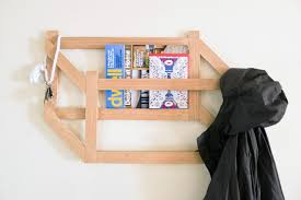 make this diy 3d trompe l u0027oeil coat rack brit co