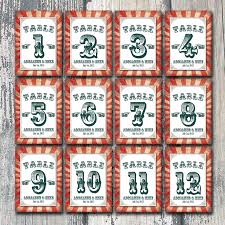 themed table numbers 14 best circus pliths images on circus theme carnival