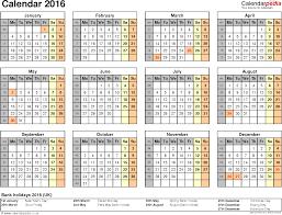 Free Printable Spreadsheets Blank Calendar 2016 Uk 16 Free Printable Word Templates