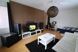 modern furniture small apartments whute wooden kitchen storage modern furniture small apartments whute wooden kitchen storage cabinets brown varnished wooden tv cabinet metal folding bed frames white colors fabric