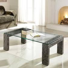 Wohnzimmer Tisch Wohnzimmertisch Funchas Aus Stein Und Glas Wohnen De