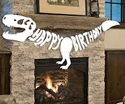 Jurassic Park Decorations Amazon Com Giant Dinosaur Birthday Banner Dino Party Supplies