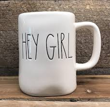 rae dunn mug new rae dunn by magenta hey girl mug farmhouse fresh home