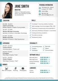 Example Of Resume Personal Information by Resume Examples Excellent 10 Design Resume Layout Templates