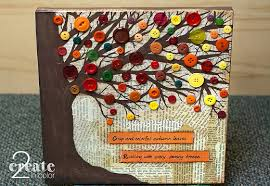 fall button tree 2create in color