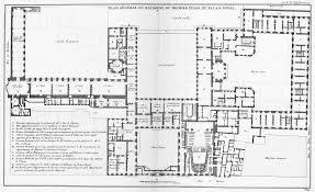 file palais royal plan du premier étage architecture françoise