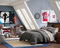 Pb Teen Bedrooms Teenage Guys Bedroom Ideas Football Inspired Pbteen