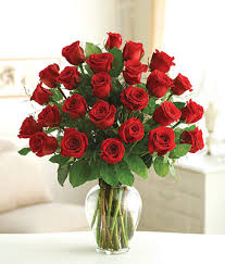 Long Stem Rose Two Dozen Premium Long Stem Red Roses At From You Flowers