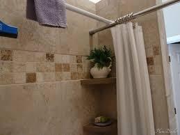 ideal corner shower curtain rod design ideas and decor