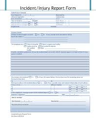 outage report template best photos of accident incident report form template sample employee accident report form template