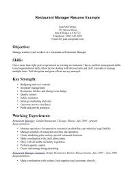 example resume for cashier resume restaurant cashier resume